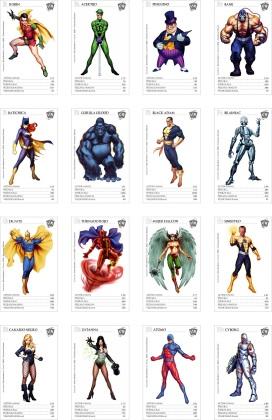 DC set completo 2baja
