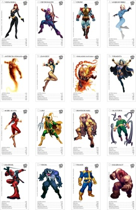 MARVEL set completo 1baja